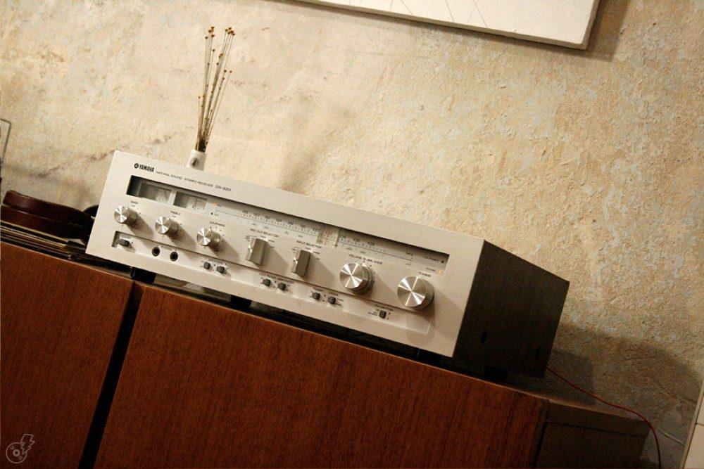 YAMAHA CR-620 收音头 (1978)