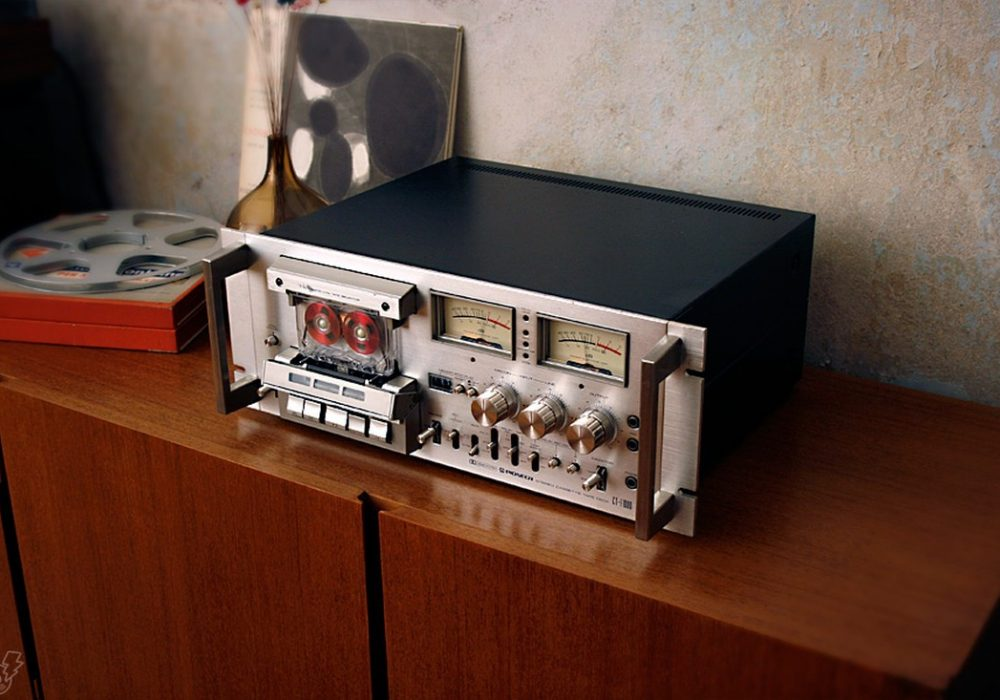 PIONEER CT-F1000 卡座 (1977)