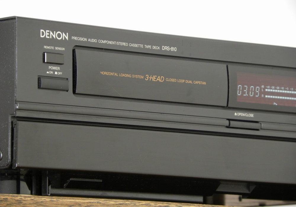 天龙 DENON DRS-810 3磁头卡座
