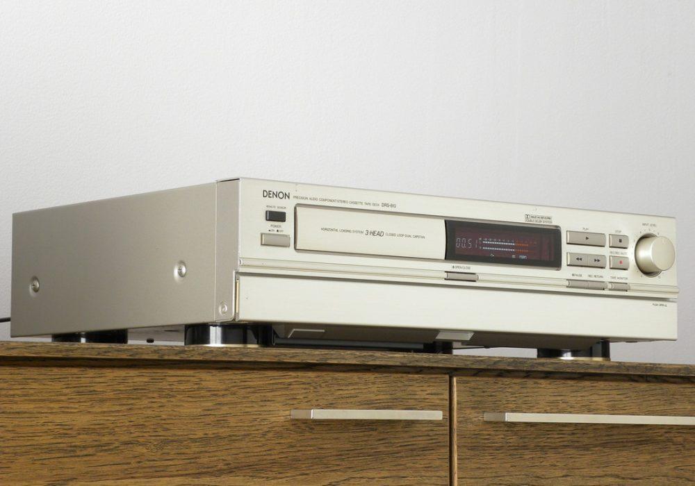 DENON DRS-810 3磁头卡座