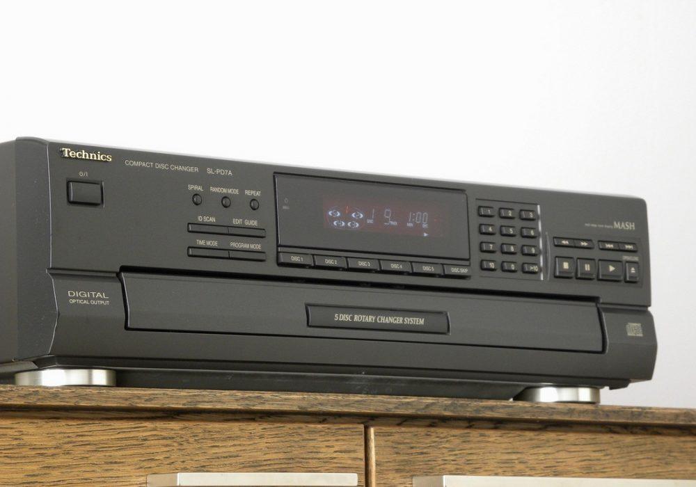 Technics SL-PD7A 5碟连放 CD播放机