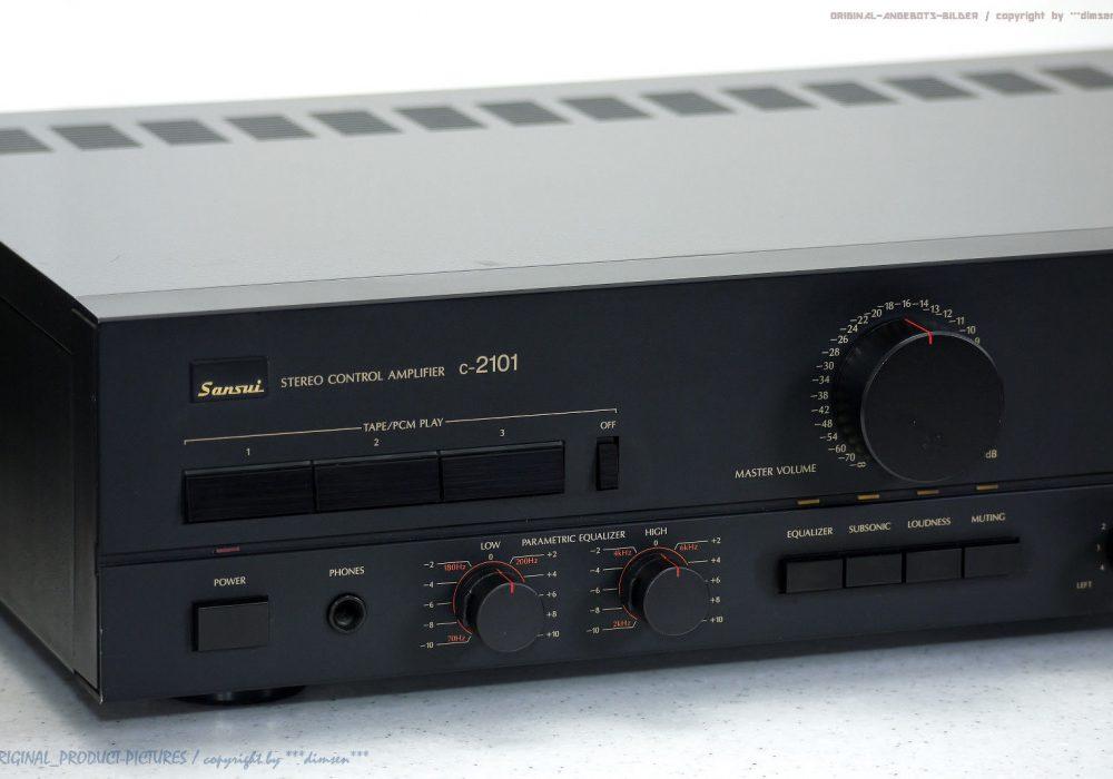 SANSUI C-2101 High-End 前级放大器