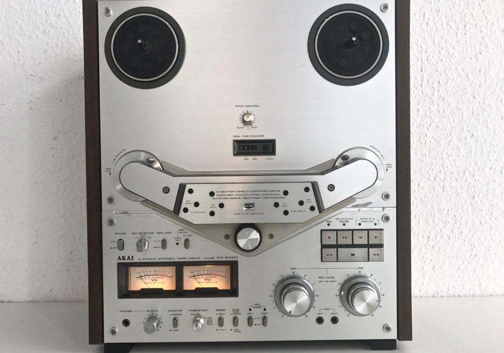 AKAI GX-635D 开盘机