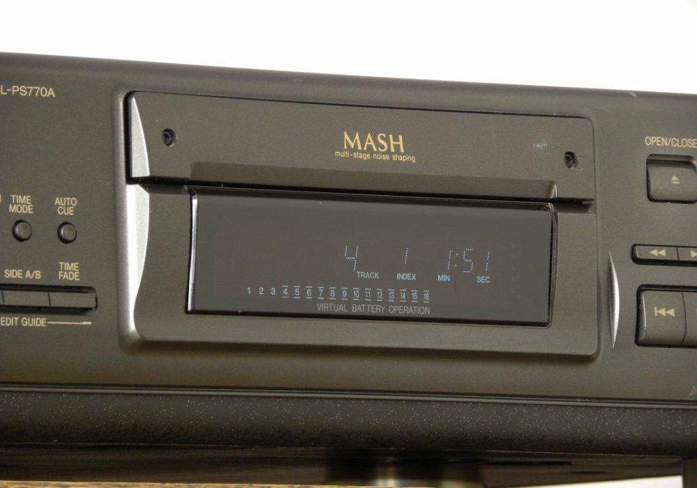 Technics SL-PS770A CD播放机