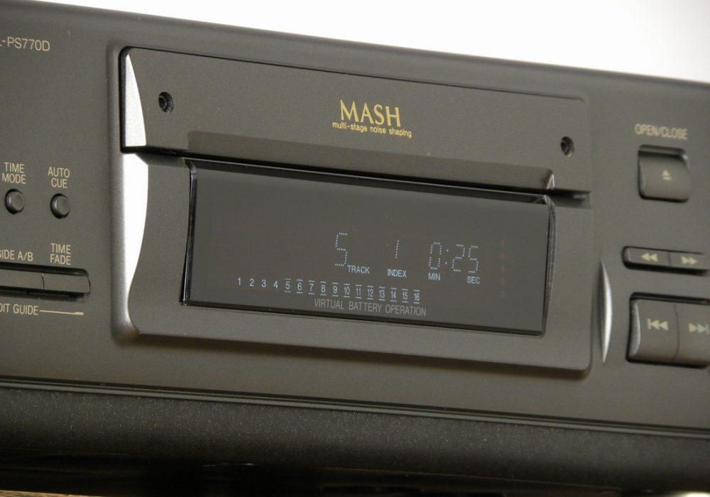 Technics SL-PS770D CD播放机
