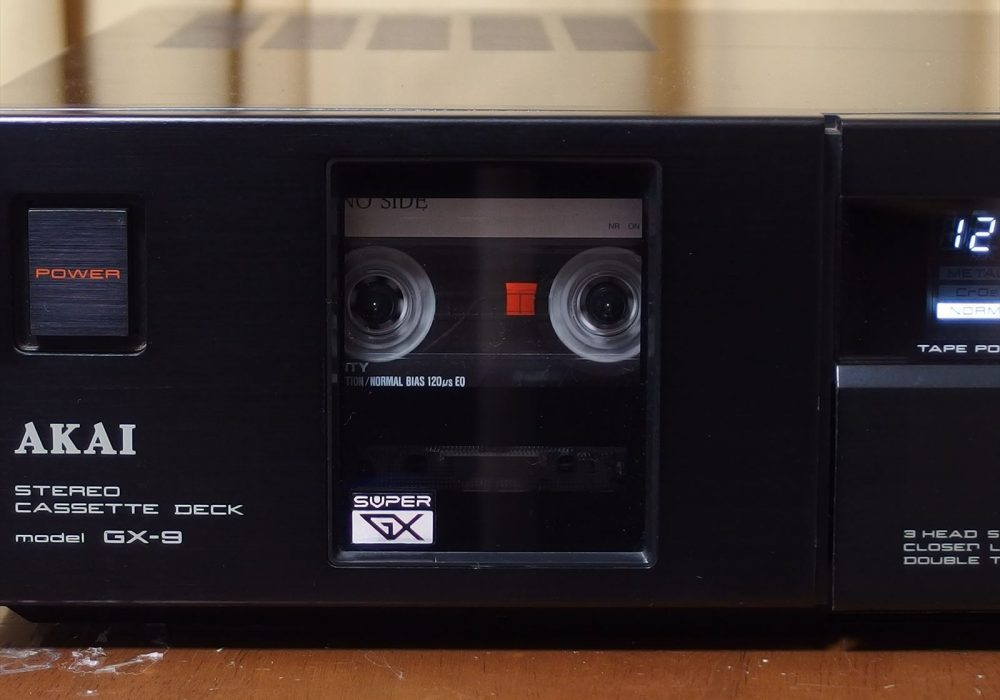AKAI GX-9 卡座