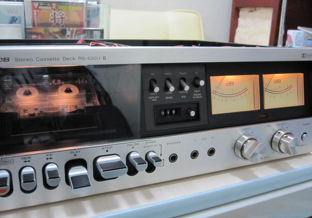 Technics RS-630U-II 卡座