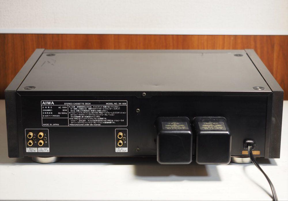 AIWA EXCELIA XK-009 卡座 拆解
