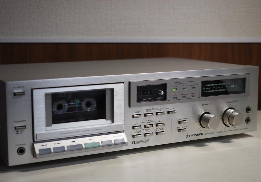 PIONEER CT-520 卡座