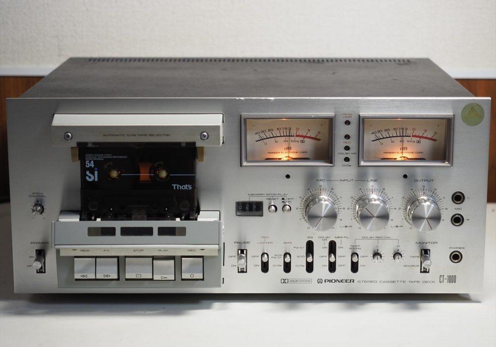 PIONEER CT-1000 卡座拆解