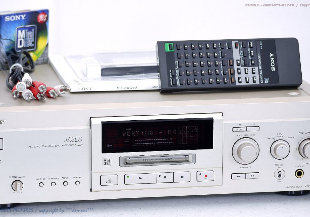 索尼 SONY MDS-JA3ES High-End MD播放机
