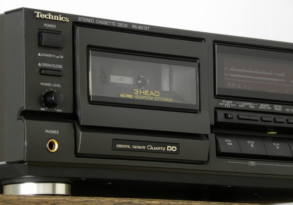 Technics RS-BX727 三磁头卡座