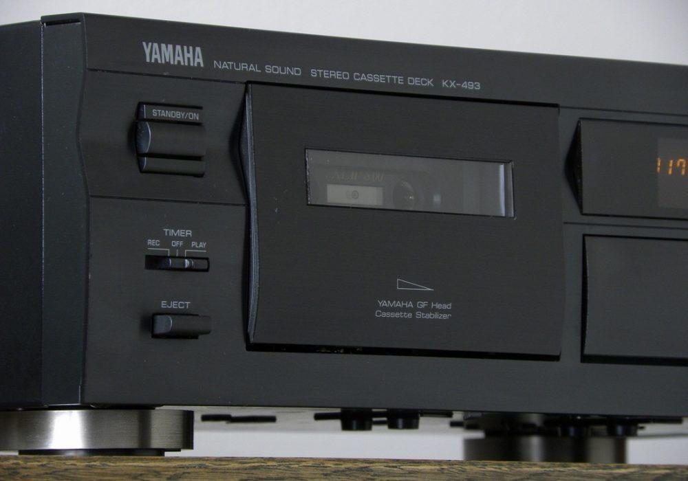 YAMAHA KX-493 卡座