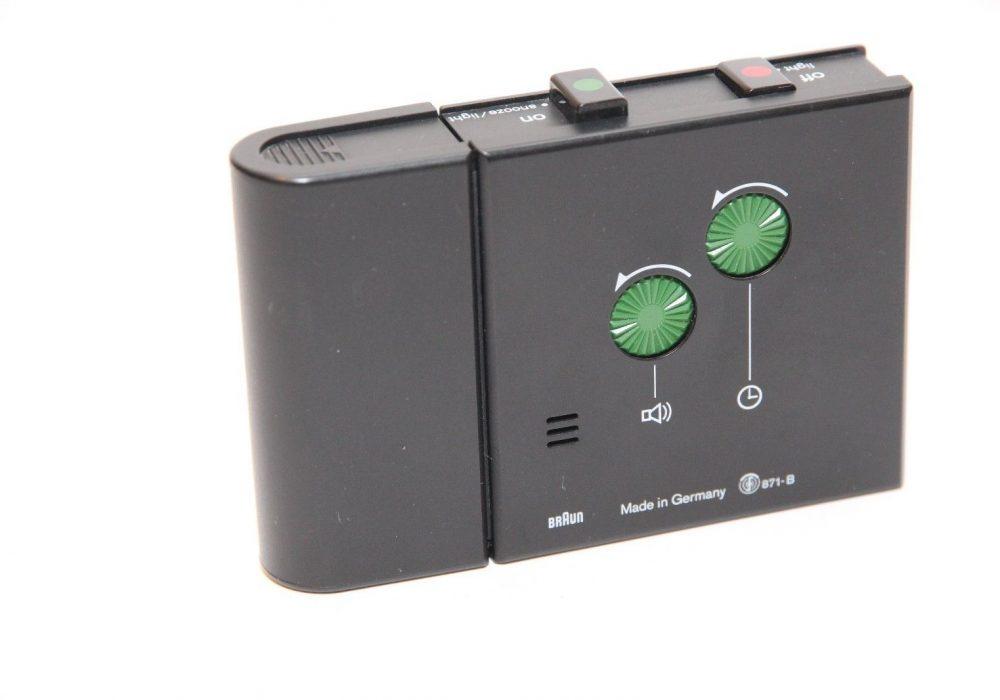 BRAUN Reflex Control Infrared Sensor Clock 4783/AB313rsl