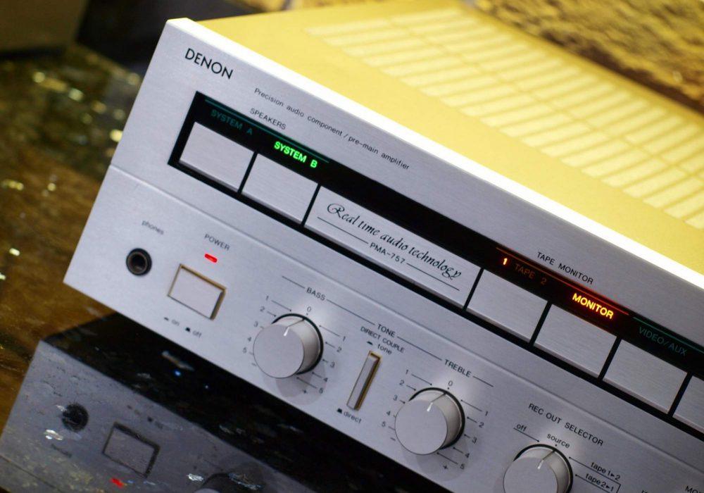 天龙 DENON PMA-757 前级放大器