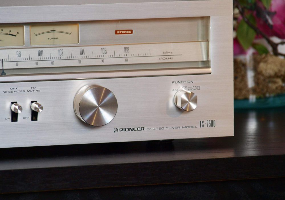 先锋 PIONEER TX-7500 FM/AM 收音头