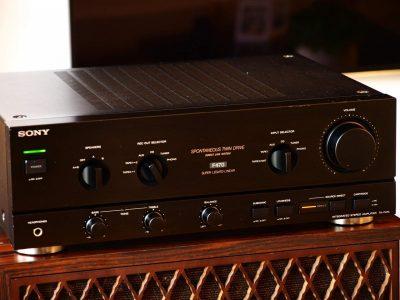 索尼 SONY TA-F470 功率放大器