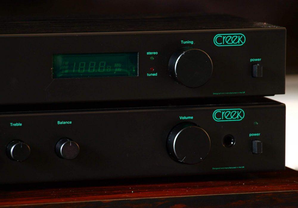 Creek 4040 功率放大器 + Creek T40 FM 收音头