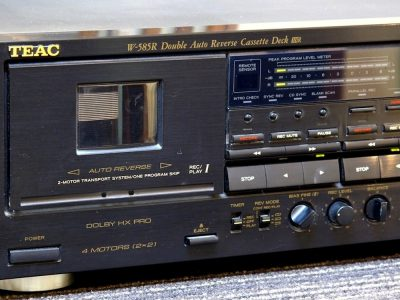 TEAC W-585R 双卡座