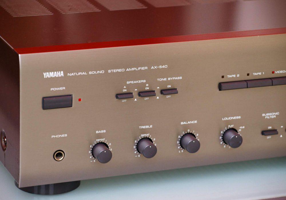 雅马哈 YAMAHA AX-540 功率放大器