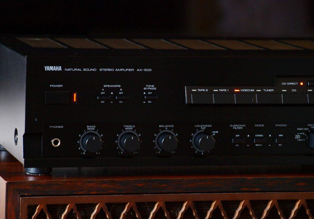雅马哈 YAMAHA AX-500 功率放大器
