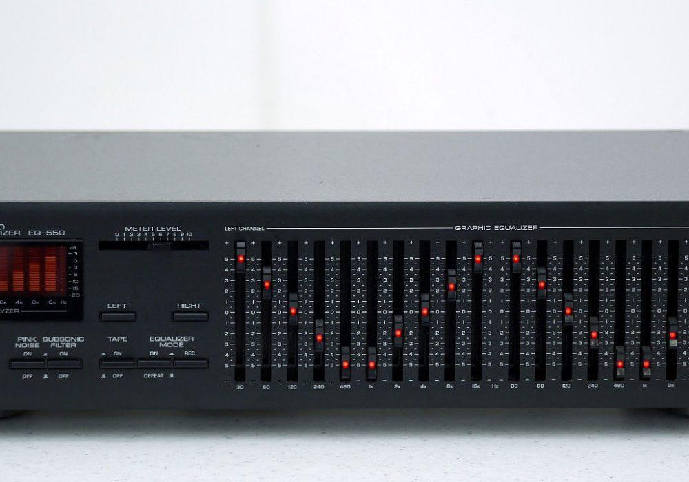 YAMAHA EQ550 High-End 图示均衡器