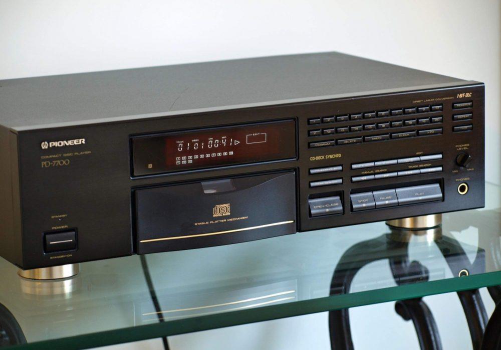 先锋 PIONEER PD-7700 CD播放机
