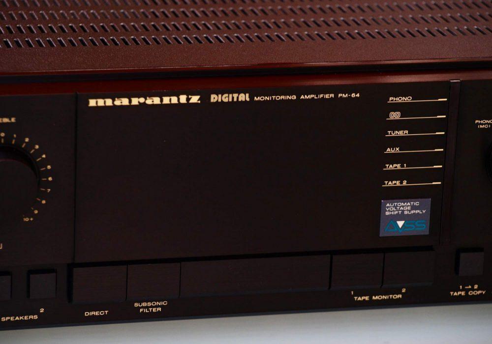 马兰士 Marantz PM-64 功率放大器