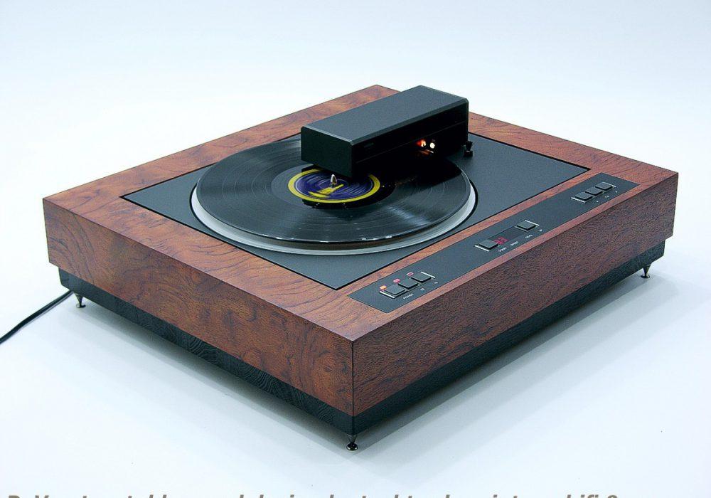 wood design based on ReVox B791 黑胶唱机