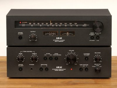 AKAI AM-2200 功率放大器 + AT-2200 收音头