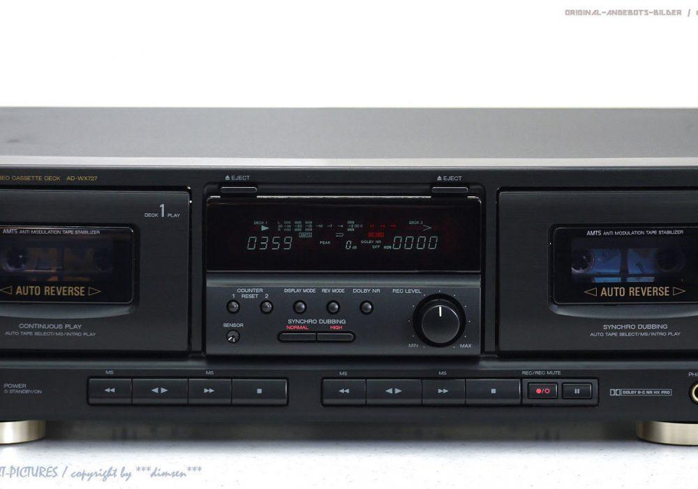 AIWA AD-WX727 Doppel 磁带 Tape 卡座