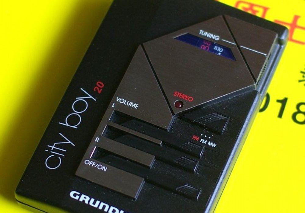 GRUNDIG City Boy 20 收音机