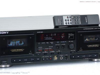 索尼 SONY TC-WR820 双卡座