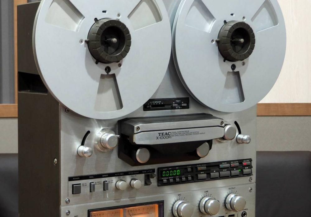 TEAC X-1000R 开盘机