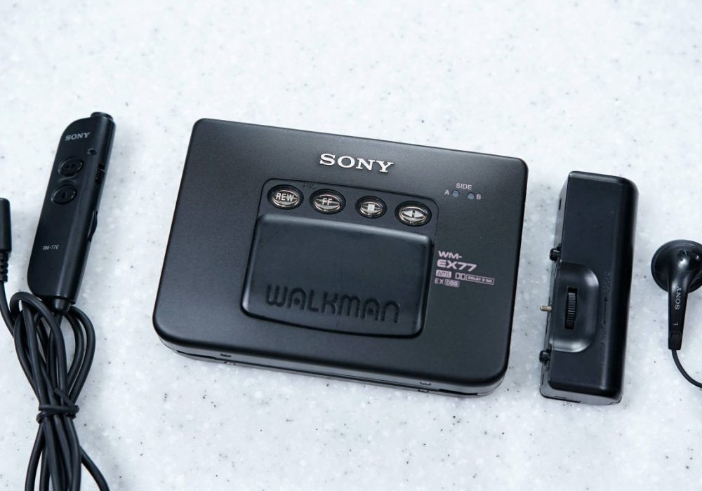 索尼 SONY WALKMAN WM-EX77 磁带随身听