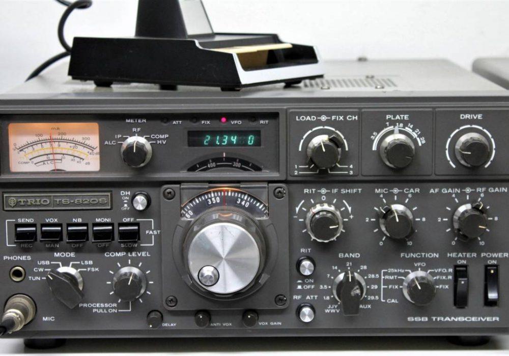 TRIO TS-820S SSB 收发机