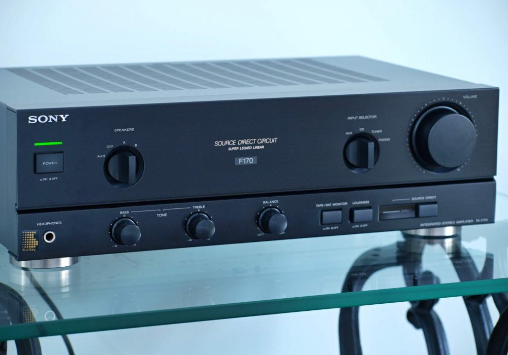 索尼 SONY TA-F170 功率放大器