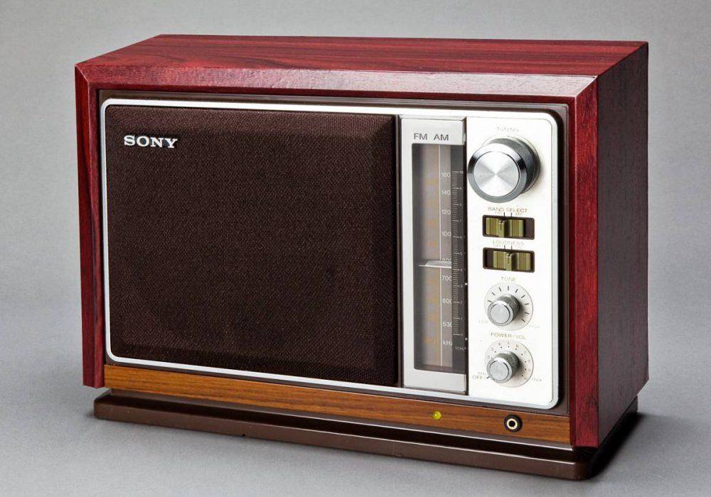 ソニートランジスターラジオ AM/FM 感度良好 昭和レトロ きれいな中古!ICF-9740