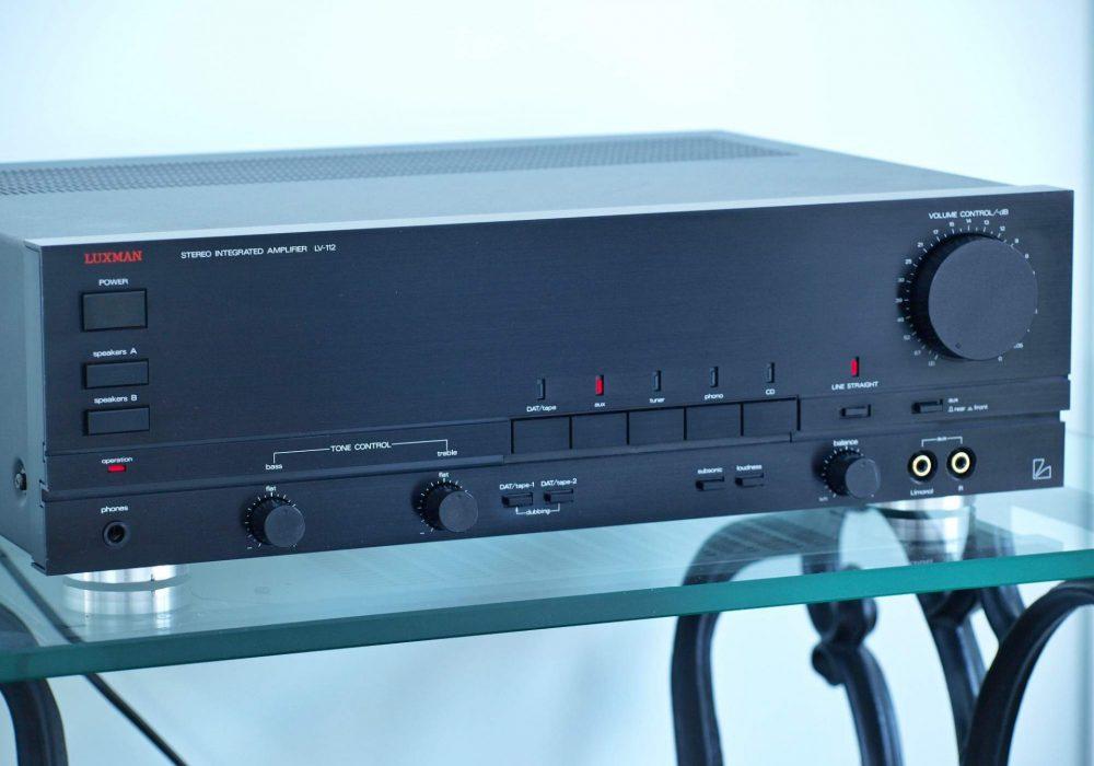 LUXMAN LV-112 功率放大器