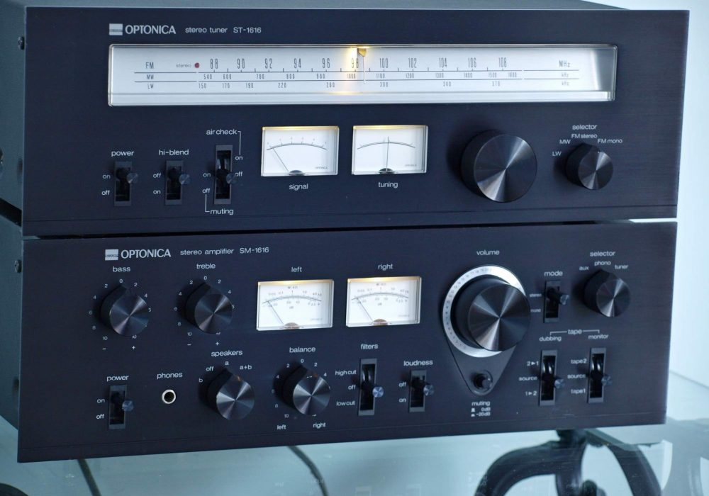 Sharp Optonica SM-1616 功率放大器 + ST-1616 收音头