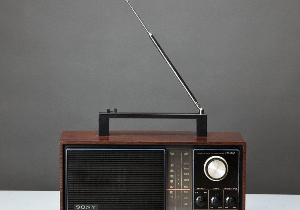 索尼 SONY TFM-9200 FM/AM 收音机