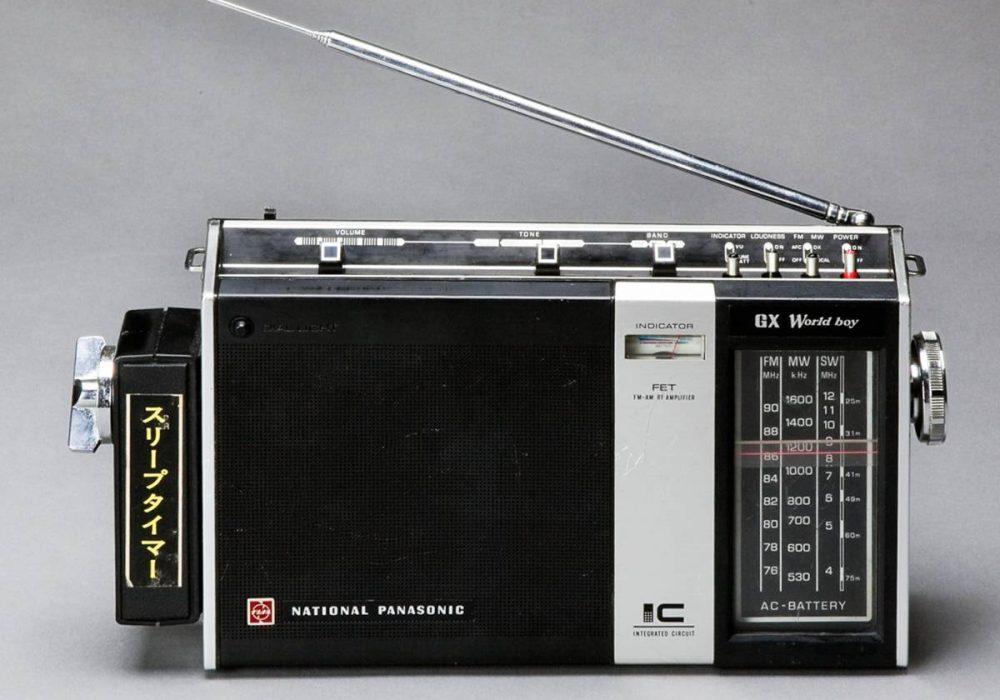 National Panasonic GX World boy RF-858 3BAND 動作OKの中古品!