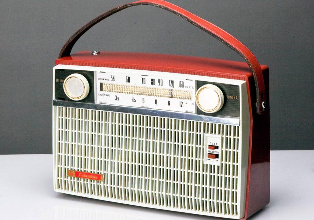 希少!日本コロンビア 7石トランジスター 2BAND AM/SWラジオ グッドデザインの中古!
