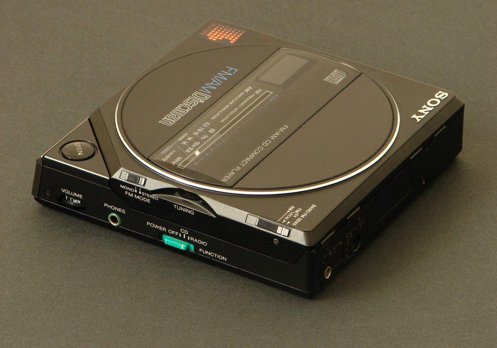 索尼 SONY D-55T ( D-77 ) Discman FM/AM CD随身听