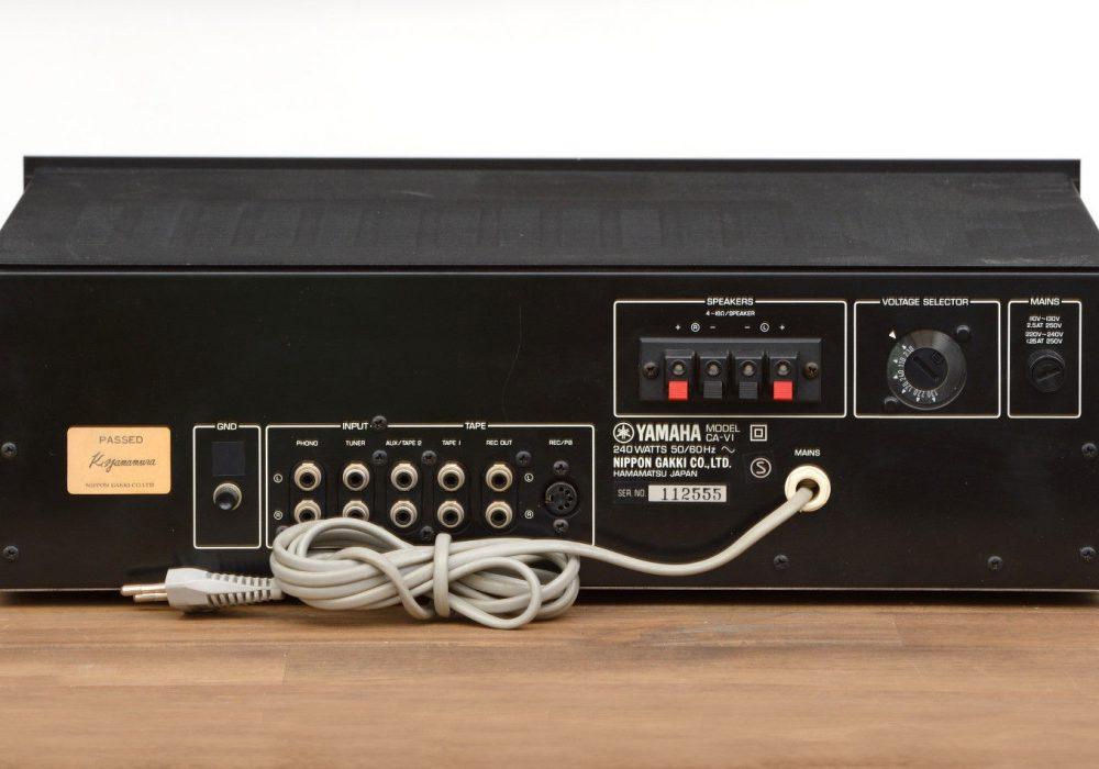 雅马哈 YAMAHA CA-V1 功率放大器