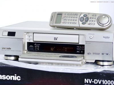松下 PANASONIC NV-DV10000 Mini DV 高级录像机