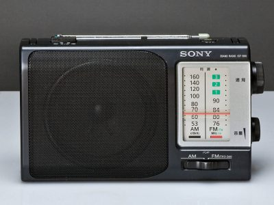 SONY ICF-800 2BAND AM/FMラジオ 美品中古動作品!