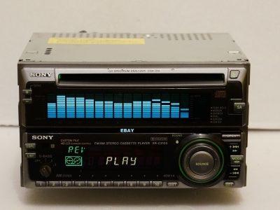 索尼 SONY CSX310 & SONY XR-C3100 磁带/CD 车载播放机