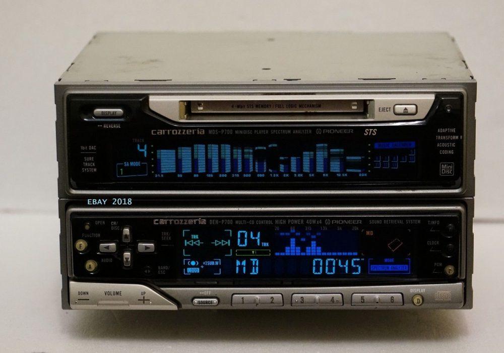 先锋 PIONEER DEH-P700 & MDS-P700 CD/MD 车载播放机