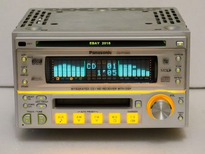 PANASONIC CQ-PY2003 CD/MD 车载播放机